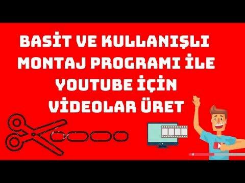 Video düzenlemek için 10 kullanışlı program