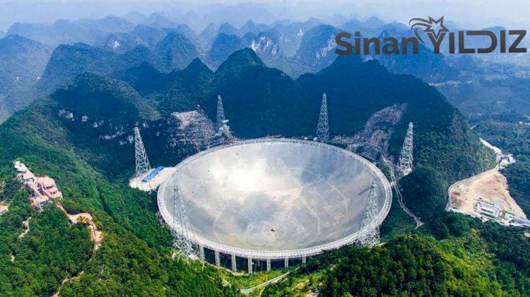 Çin'deki Radyo Teleskop Uzaylı Sinyali Arayacak